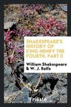 Shakespeare's History of King Henry the Fourth. Part II