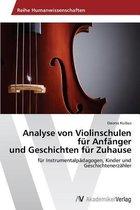 Analyse Von Violinschulen Fur Anfanger Und Geschichten Fur Zuhause