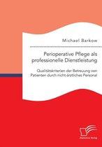 Omslag Perioperative Pflege als professionelle Dienstleistung
