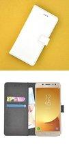 Luxe Witte Bookcase Wallet hoesje voor Samsung Galaxy J5 2017