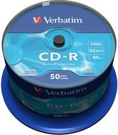 Verbatim CD-R 700MB 52X SP EXTRA PROTECTION SURF - Rohling