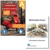Boek cover ScooterTheorieBoek - Brommer Theorieboek met Samenvatting ScooterTheorie boek Rijbewijs Am CBR Bromfiets Theorie Boek (NIEUW!) van LeerTheorie BV (Onbekend)