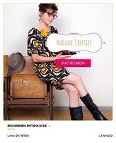 Madame Creatief - Patronen Bohemien retrojurk
