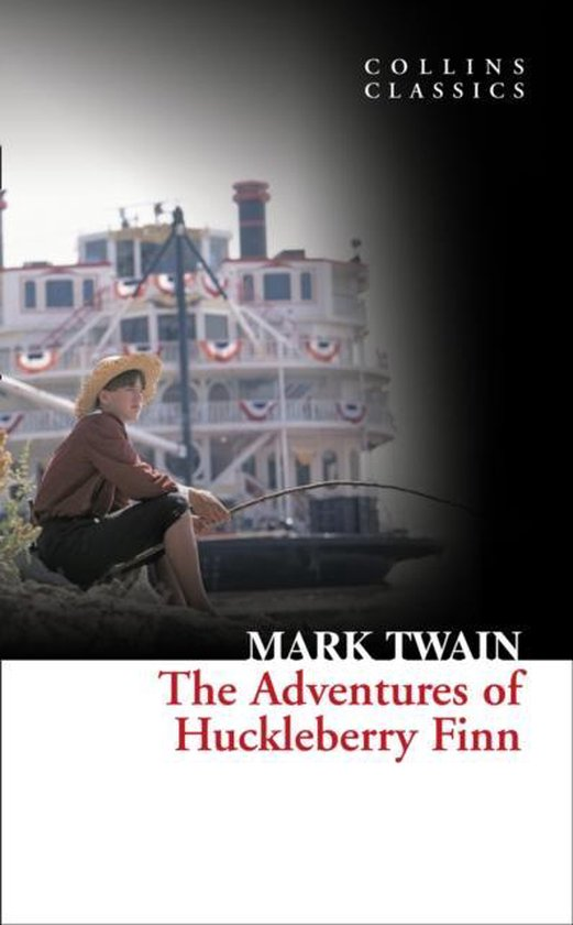 Boek cover The Adventures Of Huckleberry Finn (Collins Classics) van Mark Twain (Paperback)