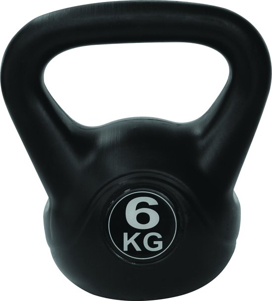 Tunturi PVC Kettle Bell - Kettlebell - 6 kg