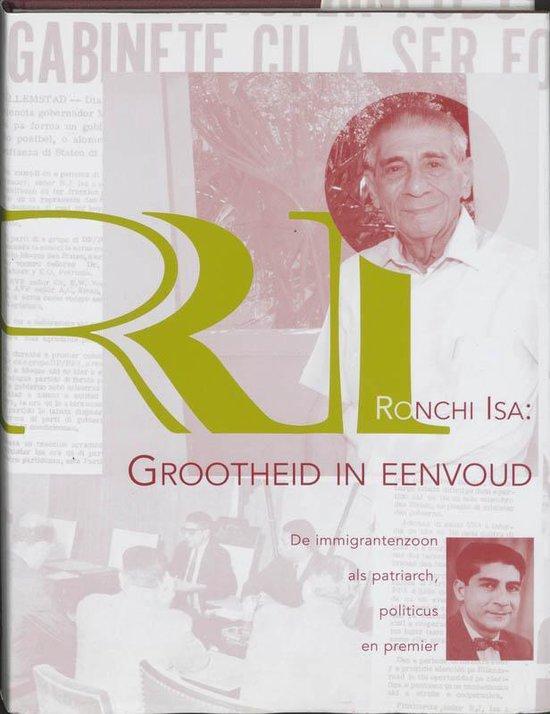 Cover van het boek 'Ronchi Isa: grootheid in eenvoud / druk 1'