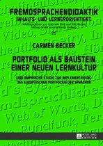 Portfolio ALS Baustein Einer Neuen Lernkultur