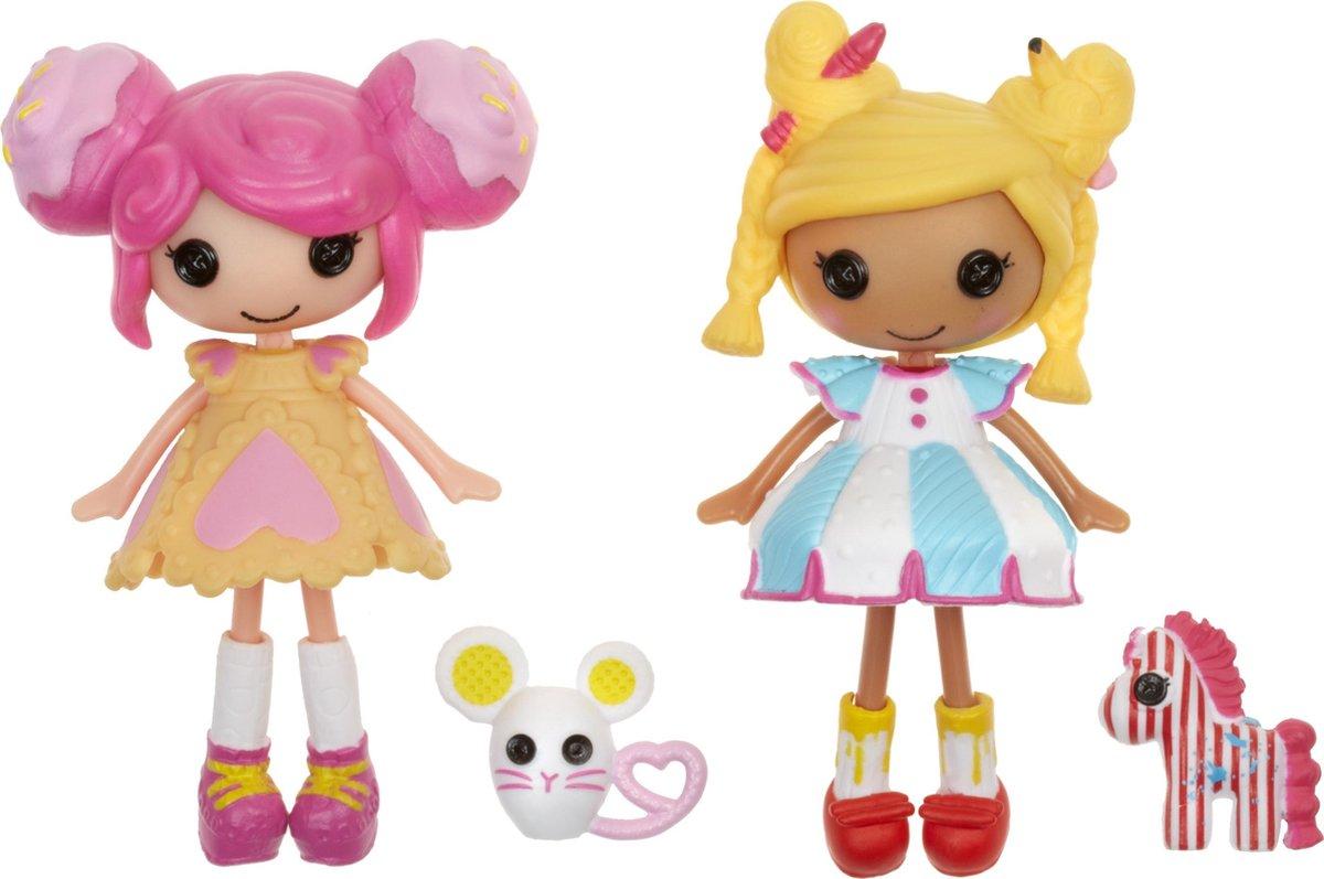 Lalaloopsy Minis Deluxe Doll - Spot Splatter Splash and Crumbs Sugar Cookie pop