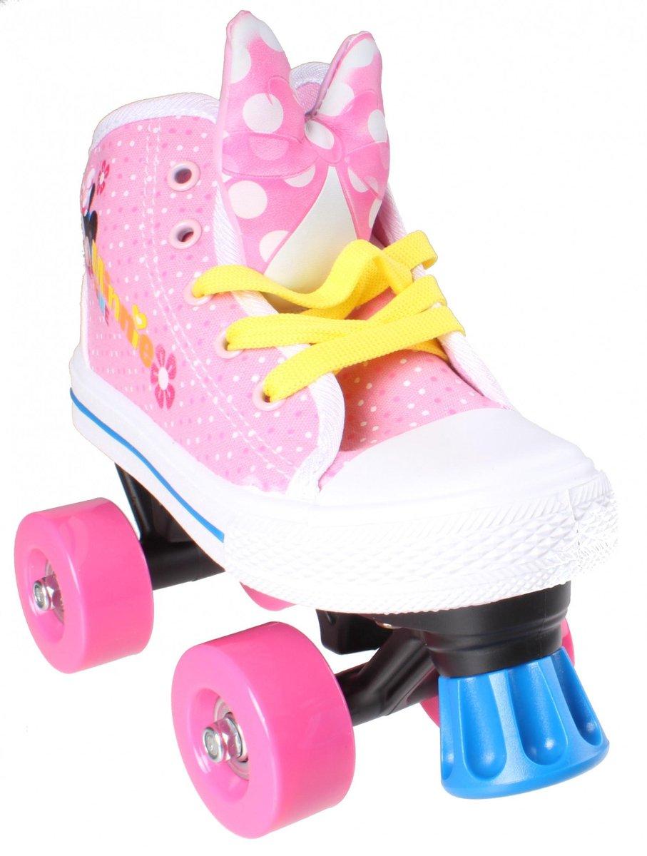 Disney Rolschaatsen Minnie Mouse Meisjes Roze/wit Maat 28