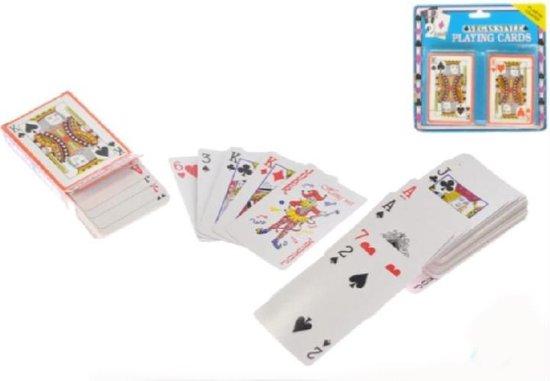 Thumbnail van een extra afbeelding van het spel 2-play Speelkaarten Vegas Style 9,5 X 6 Cm Karton 2 Sets