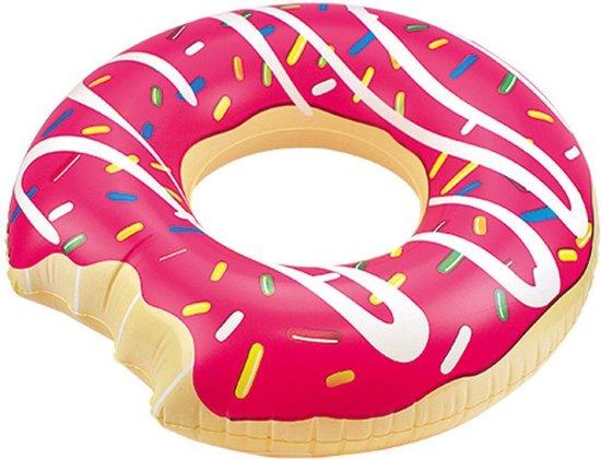 Zwemring Donut Roze 119 Cm