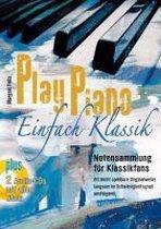 Play Piano ¿ Einfach Klassik mit 2 CD's