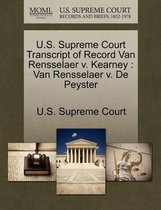 U.S. Supreme Court Transcript of Record Van Rensselaer V. Kearney