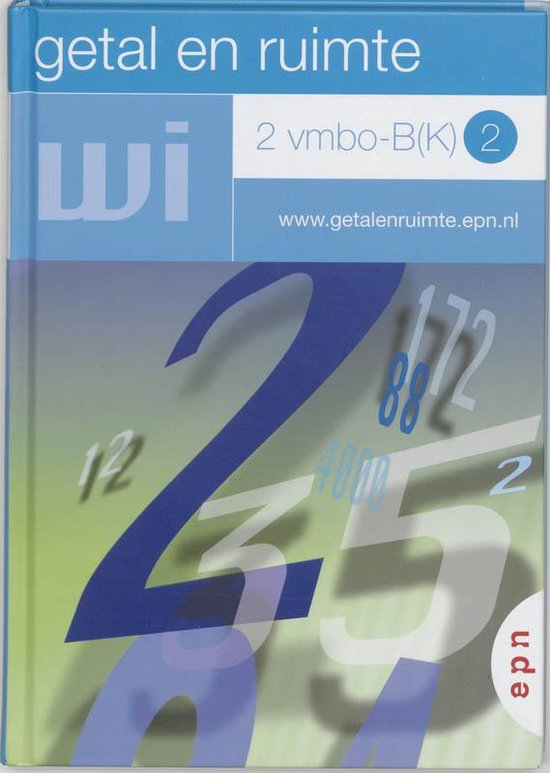 Getal en ruimte / 2 Vmbo-B(K) 2 / deel Leerboek - none |