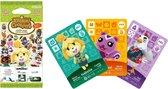 Nintendo amiibo Animal Crossing Happy Home Designer 3 Card Pack - Wii U + NEW 3DS