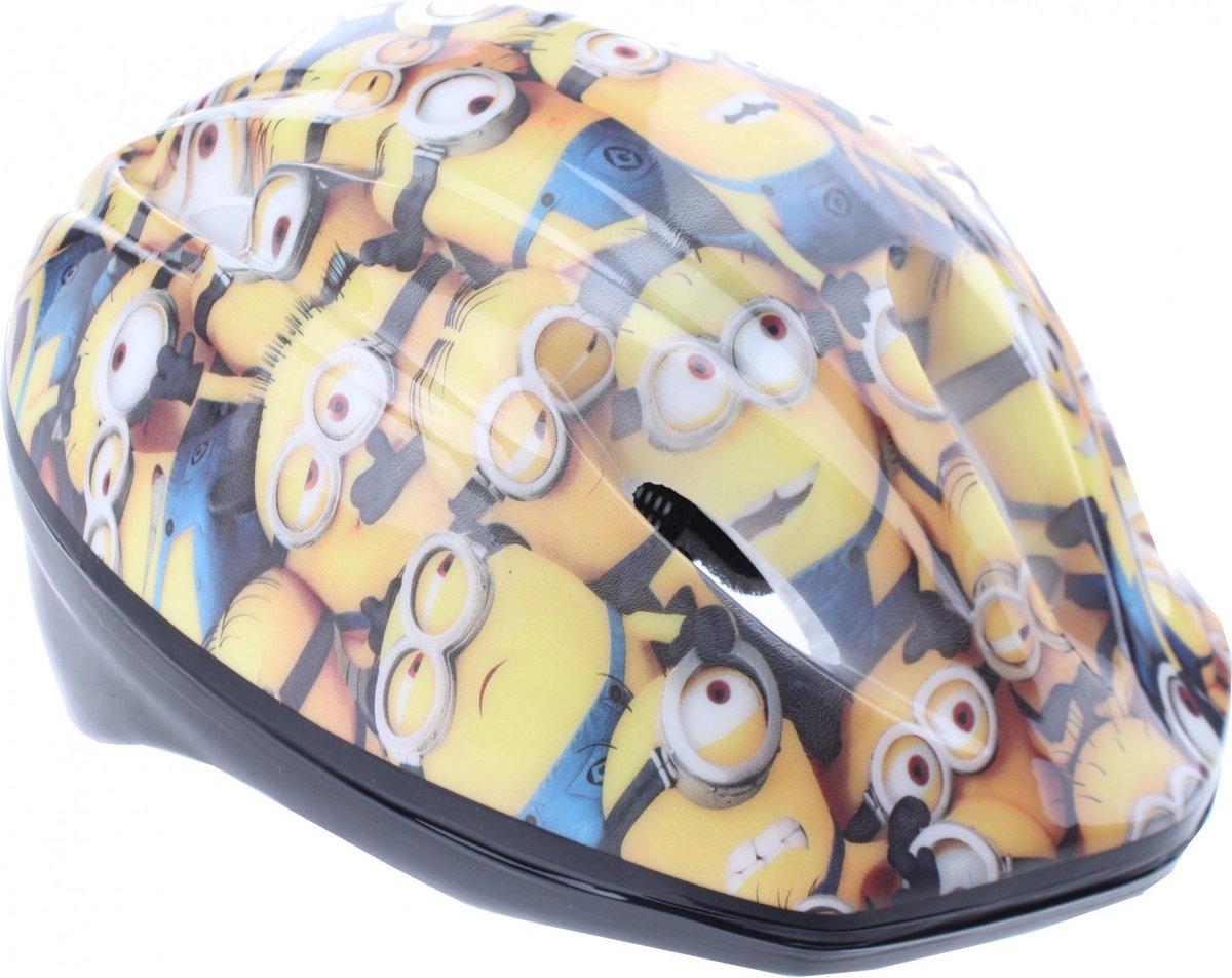 Disney Kinderhelm Minions Junior Geel Maat 52/56 Cm