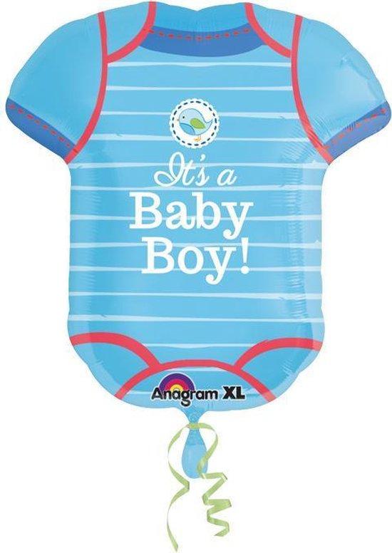 Folieballon Baby Shower Boy SuperShape
