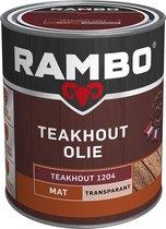 Rambo Teak Olie Transparant Teakhout 1204 750 cc