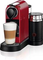 Krups Nespresso Citiz & Milk XN761510 - Koffiecupmachine - Rood