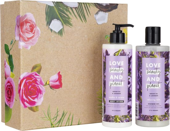 Love Beauty and Planet Argan Oil & Lavendel - Luxe Geschenkset