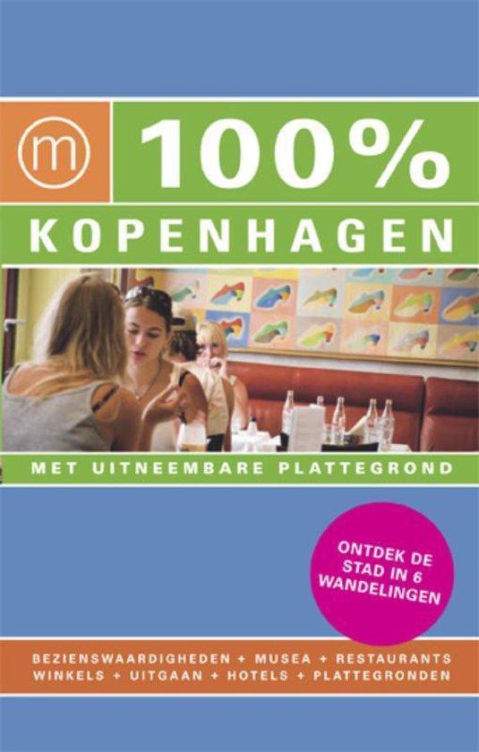 Cover van het boek '100% Kopenhagen' van C. Burger