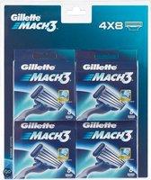 Gillette Scheermesjes MACH3 blister 4x8-pack
