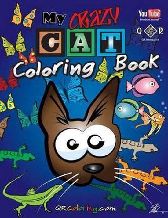 Afbeelding van My Crazy Cat Coloring Book