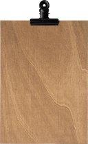 LPC Klembord - clipboard - hout - A4 -vintage - 2 stuks