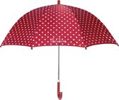 Playshoes - Kinder paraplu met stippen - Rood - maat Onesize
