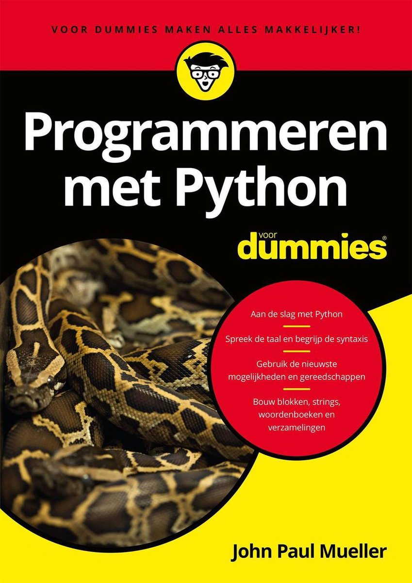 Voor Dummies - Programmeren met Python voor Dummies - John Paul Mueller