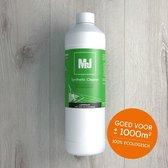 Mr.J PVC / Laminaat Reiniger. Met 1 liter behandel je 1.000 m2 vloer.