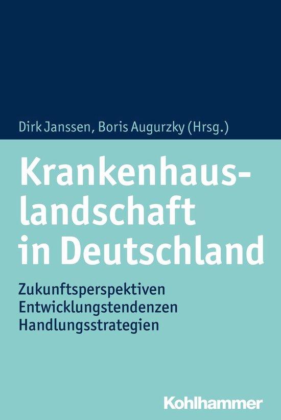 Boek cover Krankenhauslandschaft in Deutschland van Jan Bocken (Onbekend)