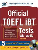 Boek cover Official TOEFL IBT Tests with Audio van Educational Testing Service