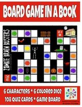 Board Game in a Book - Zombie Brain Busters