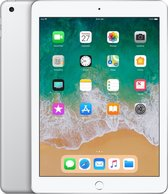 Apple iPad (2018) - 9.7 inch - WiFi - 32GB - Zilver