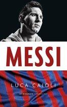 Boek cover Messi van Luca Cailoli