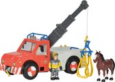 Brandweerman Sam Phoenix W/Fig.& HorseBo