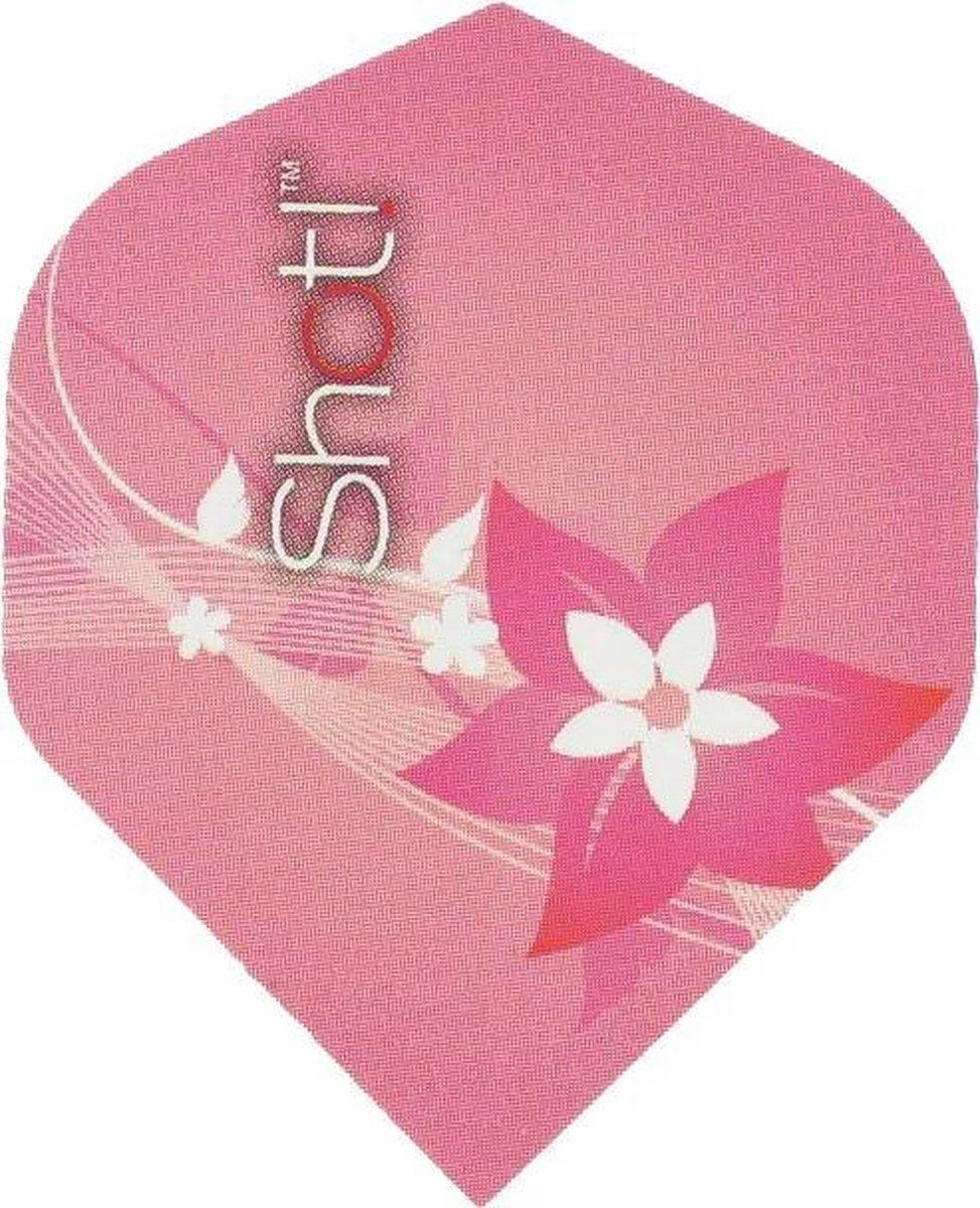 "! Branded Std.6 ""Pink Flower"""