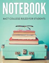 Notebook 80ct College Ruled for Students