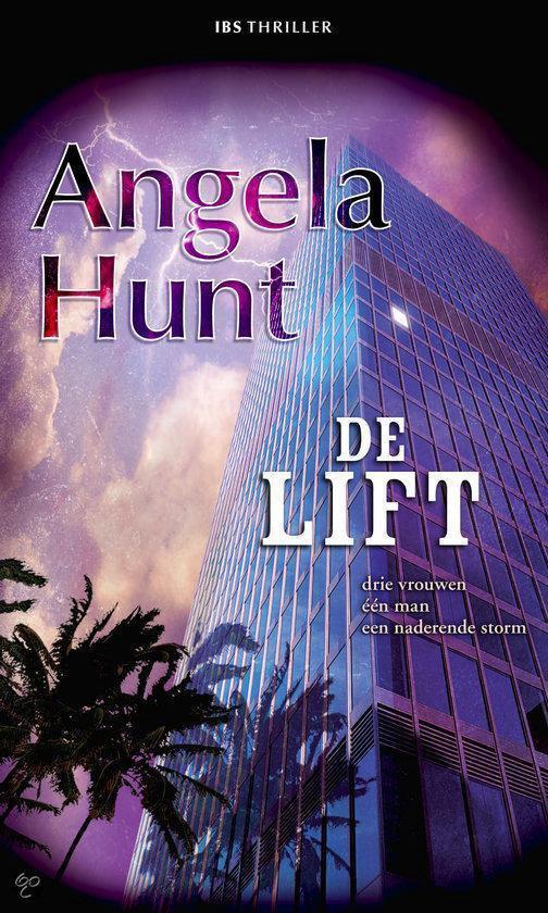 Cover van het boek 'De lift' van Angela Hunt