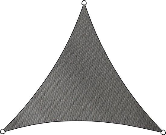 Livin' outdoor Schaduwdoek - Polyester - Driehoek - 3,6 m - Antraciet