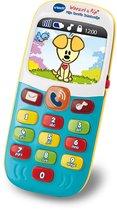VTech Baby Woezel & Pip - Mijn Eerste Telefoontje - Interactief Speelgoed - Educatief Babyspeelgoed
