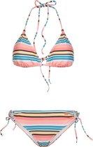 BONBINI 19 Dames Triangle Bikini - Coral Blaze - Maat XL/42