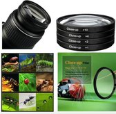 Close Up Macro Filter Set 58mm – Nikon / Canon / Sony Camera Lens Filter +1+2+4+10 – 4 Pack 58CUP