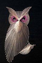 The Owl String Art Journal