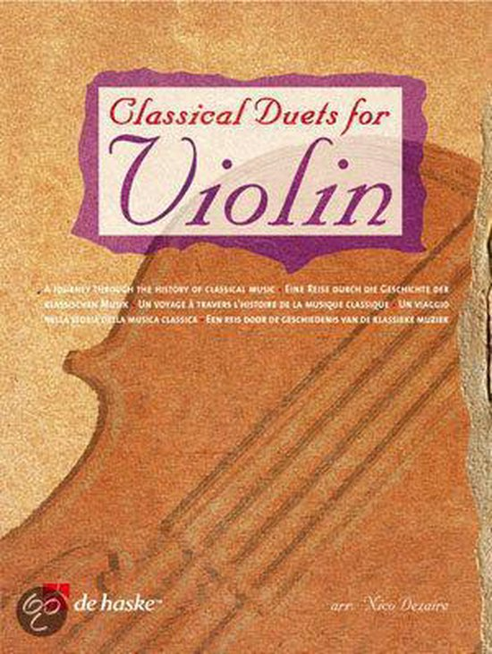 Classical Duets for Violin - N. dezaire |