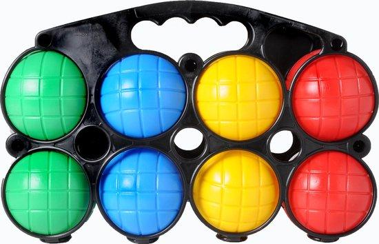 Longfield Games Jeu De Boule Set 8 Plastic Ballen