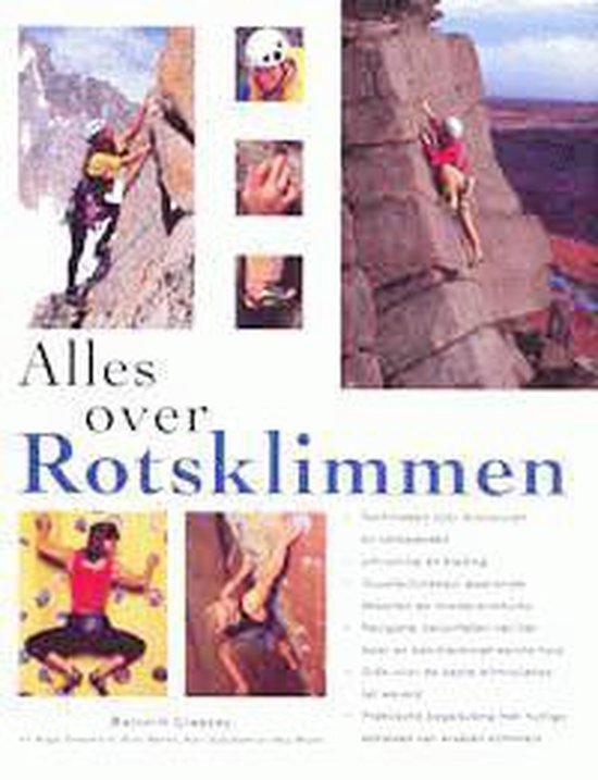 Cover van het boek 'Alles over rotsklimmen'