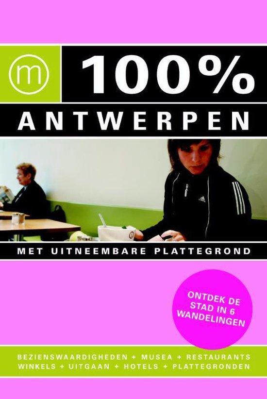Cover van het boek '100% Antwerpen' van S. Lefever