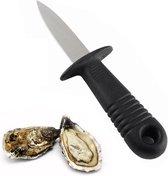 Oestermes 6 cm   Eenvoudig oesters openen met dit RVS mes - oestermesje